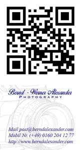 Bernd Alexander; Bernd - Werner Alexander © Photography, BWA-Photography